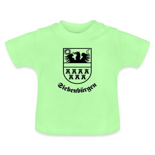 Siebenbürgen-Wappen Siebenbürgen sw - Baby T-Shirt