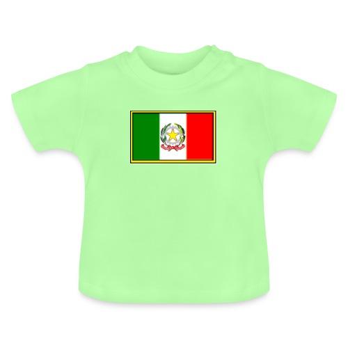 Bandiera Italiana - Maglietta per neonato