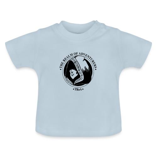 TRoA Logo Sort - Baby T-shirt