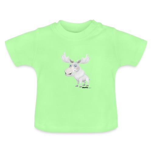 Albino elg - Baby-T-skjorte