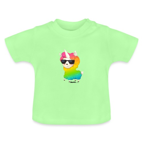 Rainbow animo - Baby-T-skjorte
