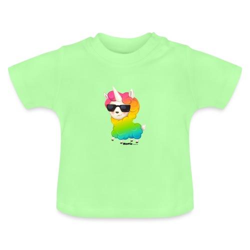 Rainbow animo - Vauvan t-paita