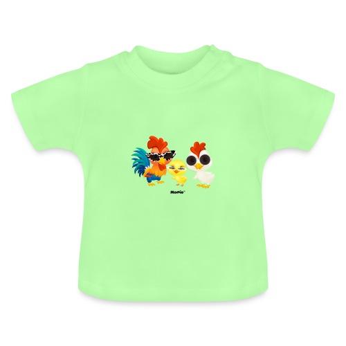 Huhn - von Momio Designer Emeraldo. - Baby T-Shirt
