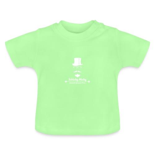 Schicky Micky Grosser K Weiss - Baby T-Shirt