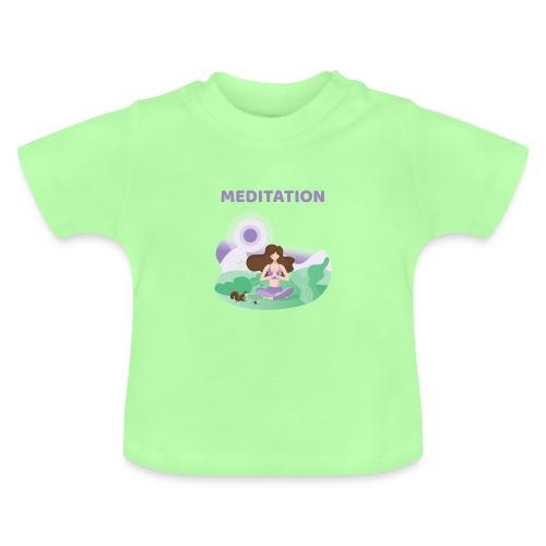 Yoga Meditation - Maglietta per neonato