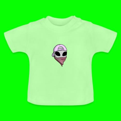 gangsta alien logo - Maglietta per neonato