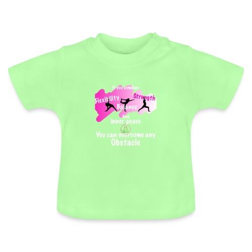 Overcome Obstacle MaitriYoga - T-shirt Bébé