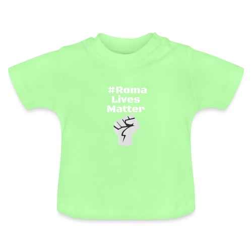 Fist Roma Lives Matter - Baby T-Shirt