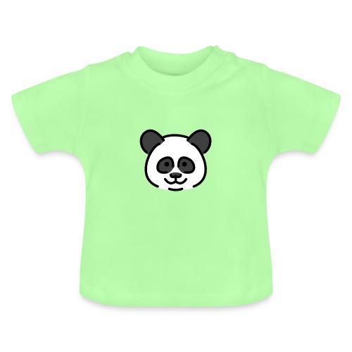 panda head / cabeza de panda - Camiseta bebé