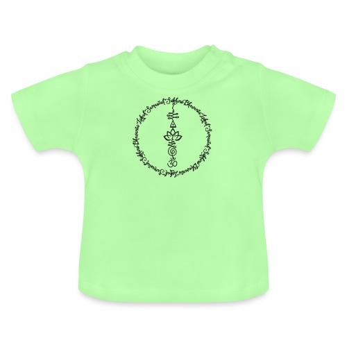 Yoga Mantra Lokah Sukhino Bhavantu Design Tshirt - Baby T-Shirt