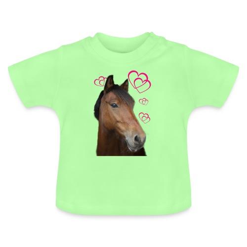 Hästälskare (Musse) - Baby-T-shirt