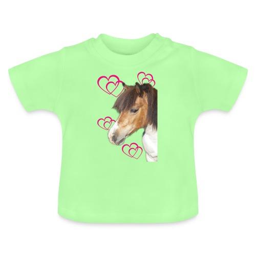 Hästälskare (Bella) - Baby-T-shirt