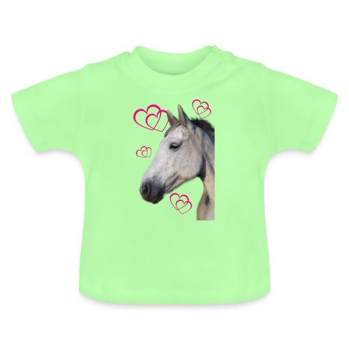Hästälskare (maya) - Baby-T-shirt