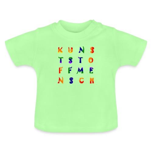 KunstStoffMensch #6 - Rainbow Edition - Baby T-Shirt