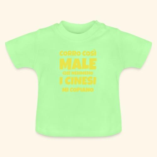 corro così male - theme - Maglietta per neonato