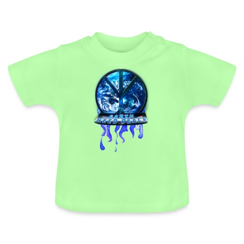 Earth need peace, space edition. - Baby T-Shirt