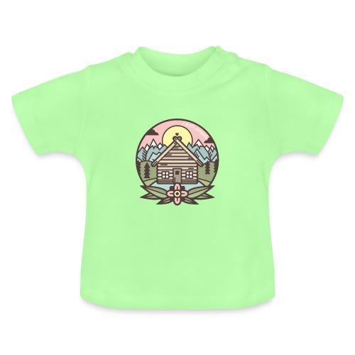 i hate people casa in montagna - Maglietta per neonato