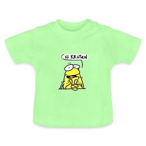 Wilmer die gelbe Kröte - Baby T-Shirt