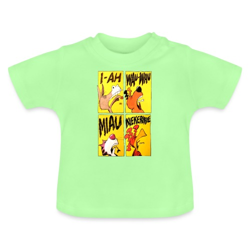Bremer Stadtmusikanten Comic - Baby T-Shirt