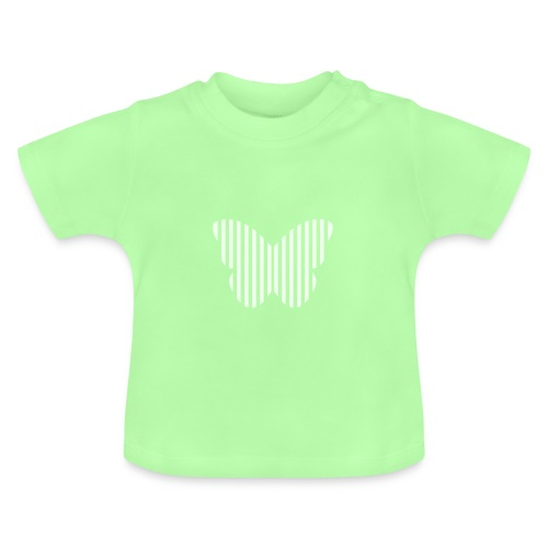butterfly_opacity.png - Baby T-Shirt