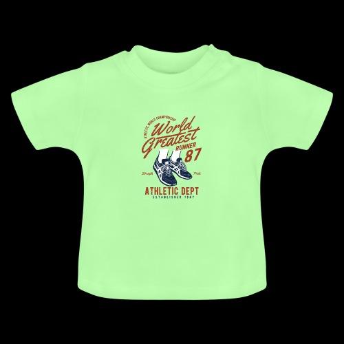 World Greatest Runner - Baby T-Shirt