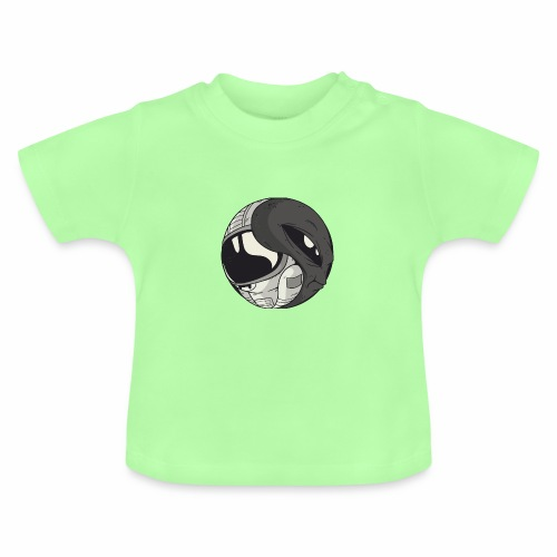 Yin Yang space Alien und Astronaut - Baby T-Shirt