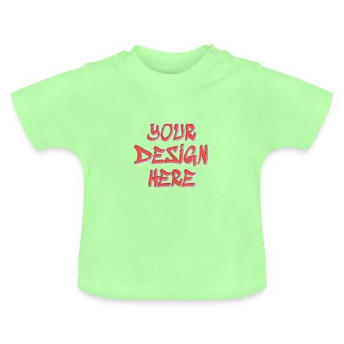 textfx - Baby-T-shirt