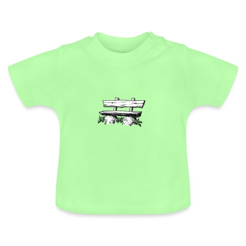 995 Bank hout - Baby T-shirt