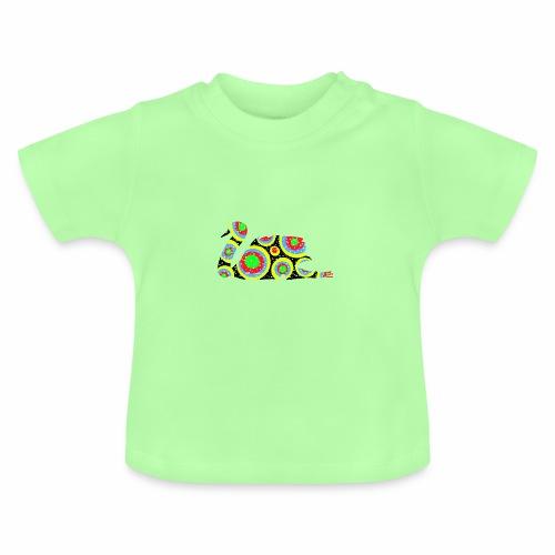 Bunter Schwan mit vielen tollen Farben - Baby T-Shirt
