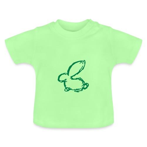 HASE KANINCHEN HÄSCHEN BUNNY SKIZZE ZEICHNUNG - Baby T-Shirt