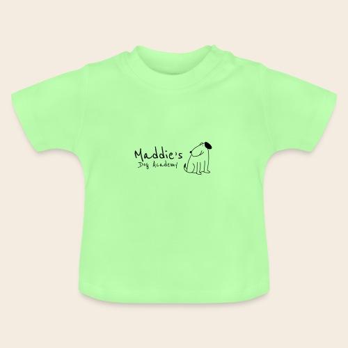 Académie des chiens de Maddie (noir) - T-shirt Bébé