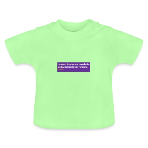 barzelletta - Maglietta per neonato