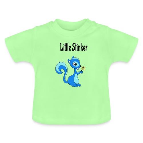 Schattige eekhoorn voor jongens - Baby T-shirt