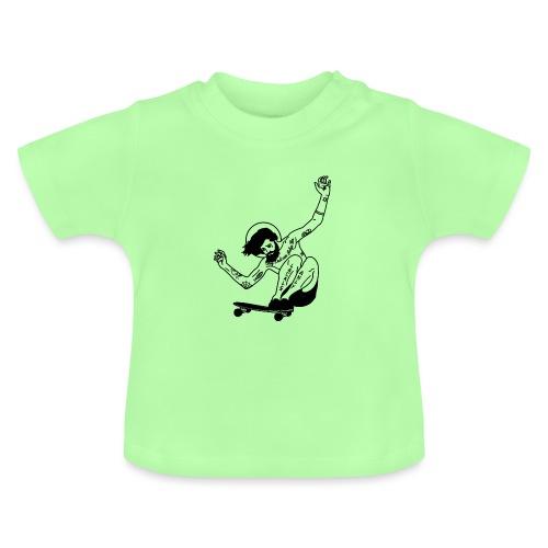 Gesu skater tutti i motivi - Maglietta per neonato