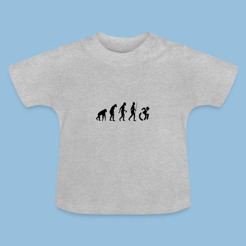 EvolutionWheelchair2 - Baby T-shirt