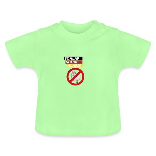 Schlaf-Schaf-Alarm - Baby T-Shirt