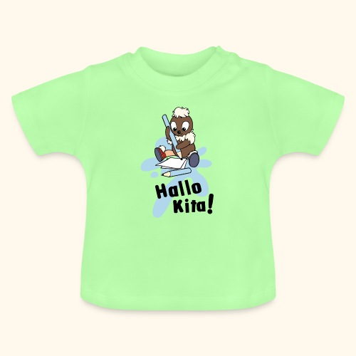 Pittiplatsch Hallo Kita! - Baby T-Shirt