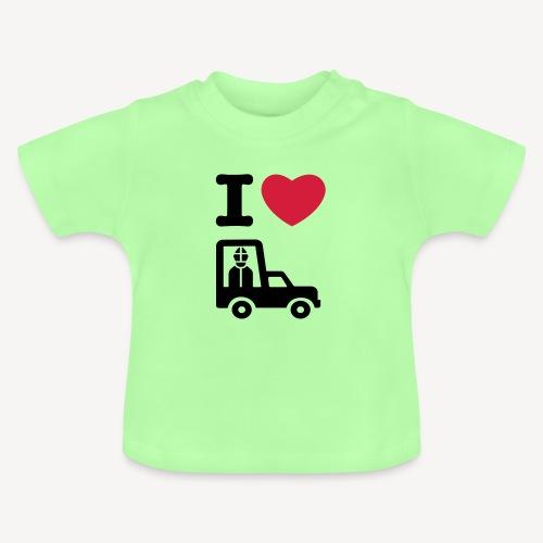 Papst im Auto - Baby T-Shirt