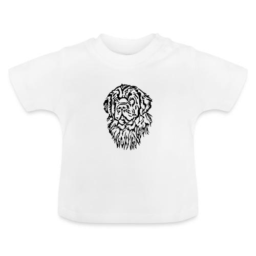 Neufundländer Kopf - Baby T-Shirt