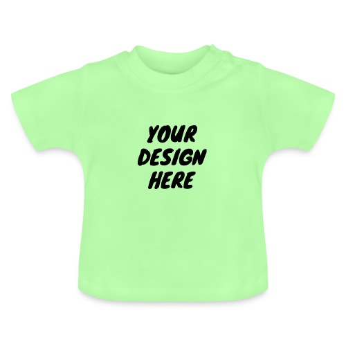 print file front 9 - Baby T-Shirt