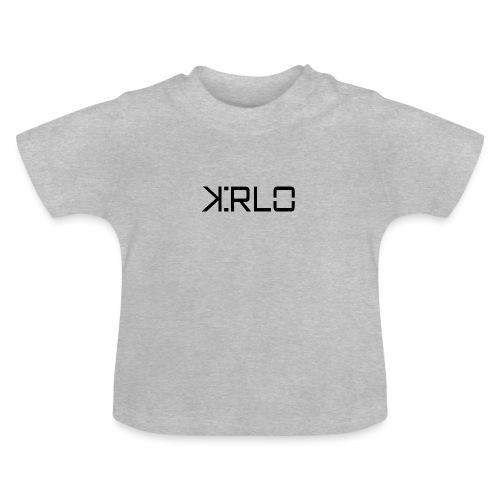 Kirlo Logotipo Negro - Camiseta bebé