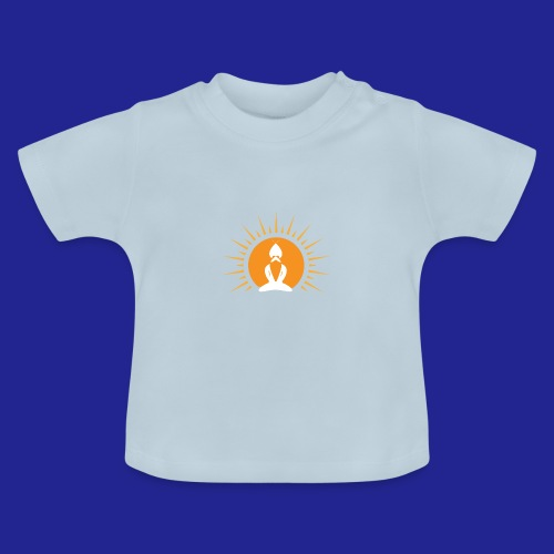 Guramylyfe logo white no text - Baby T-Shirt