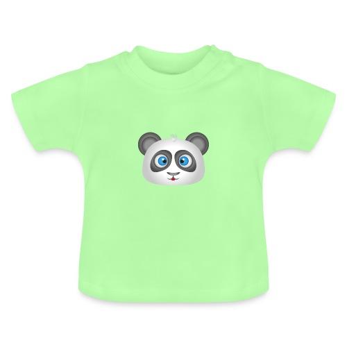 panda head / cabeza de panda 2 - Camiseta bebé