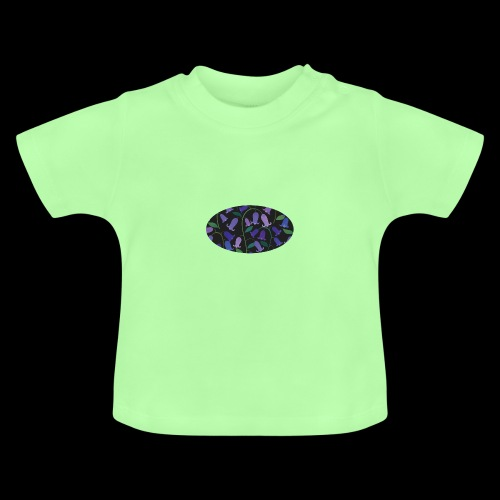 blue bells - T-shirt Bébé
