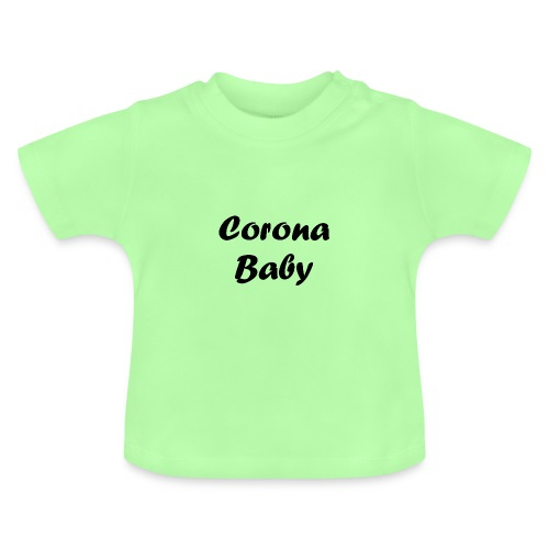Corona baby merchandise black - Baby T-Shirt
