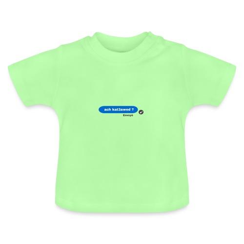 ach kat3awed messenger - T-shirt Bébé