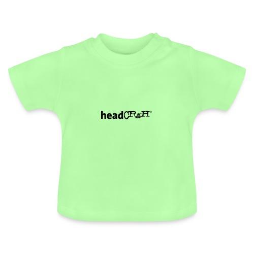 headCRASH Logo black - Baby T-Shirt