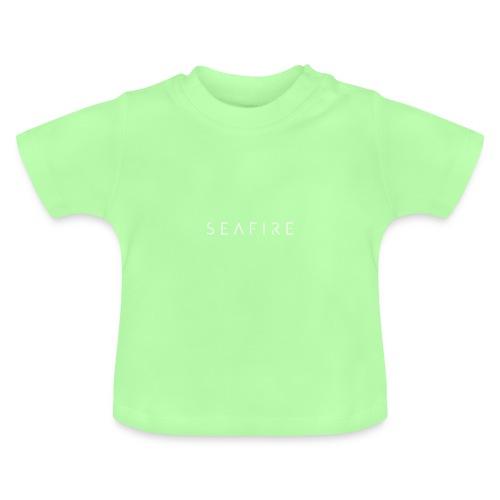 Seafire logo WHITE - Baby T-shirt