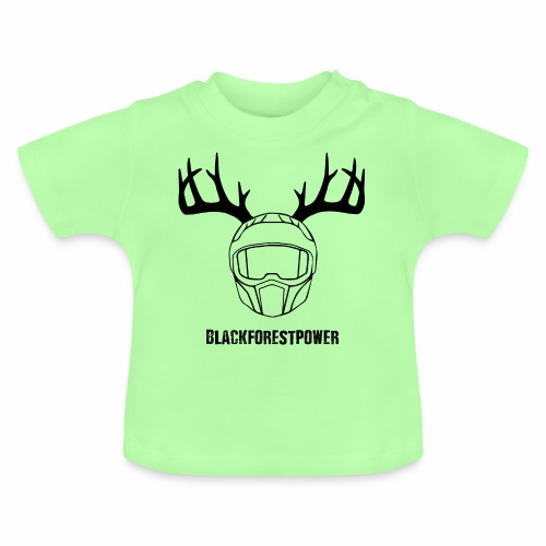 Blackforest Helm - schwarz - Baby T-Shirt