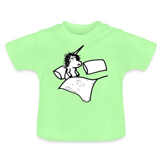 unicorno che si sveglia